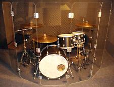 DS1 - 5 Drum Shield Geilich Instrument Shields Schallschutz Drums Acrylglas
