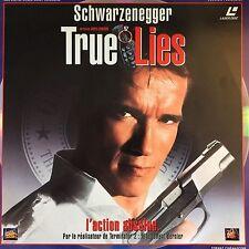 LASERDISC - TRUE LIES -  WS VF PAL - Arnold Schwarzenegger, Jamie Lee Curtis