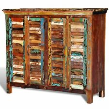 # Antik Teak Massivholz Kommode Sideboard Kleiderschrank Anrichte Retro Vintage