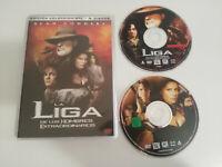 LA LIGA DE LOS HOMBRES EXTRAORDINARIOS SEAN CONNERY - 2 X DVD ESPAÑOL ENGLISH