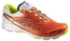 Zapatos Running de Hombre Salomon Sense Pro , Profeel,Naranja Blanco,Ligero