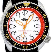 Vintage diver PLONGEUR hands HYBRID Mod SHARK TOOTH dial with Genuine 7002 case!