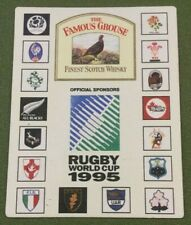 5 Famous Grouse Blended Scotch Whisky Beer Mats Set Beermats Coasters