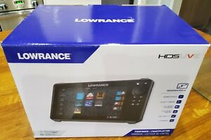 Lowrance HDS9 LIVE Fishfinder/Chartplotter, 3 in 1 Transducer, SD & Custom Case.