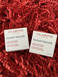 2 x Clarins Paris Instant Smooth Line Smooth Matifying Primer - 0.13 Oz