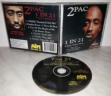 CD 2PAC - TUPAC - 1 IN 21 - A TUPAC SHAKUR STORY