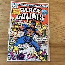 Marvel Comics Black Goliath 1 nice mid grade 1975