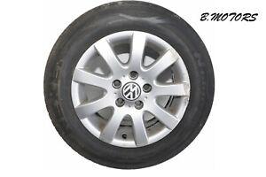 """VW TOURAN GOLF 15"""" Alloy Wheel 9 Spoke 6.5Jx15H2  1K0601025AQ"""