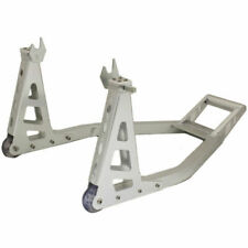 Ryde Rear Motorcycle Stand - Silver