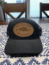 The Hundreds Last Of The Buffalo Snapback Mesh Trucker Hat Cap Streetwear