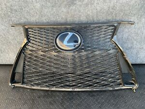 ✔LEXUS 17-20 IS200T F-SPORT FRONT BUMPER GRILLE W/ CRUSE CONTROL ASSEMBLY OEM