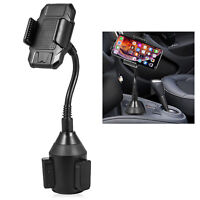 Car Cup Holder Mount Stand 360° Rotatable for Universal Smart Cell Phones iPhone