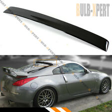 FOR 2003-08 NISSAN 350Z Z33 FAIRLADY Z JDM GLOSSY BLACK REAR WINDOW ROOF SPOILER