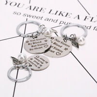 Good sisters stainless steel keychain keyring friendship gift for women gir_ti