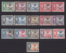 Gambia. 1938-46. SG 150-161, 1/2d to 10/-. Used.