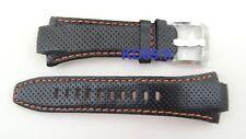 Authentic Seiko leather strap band 4KG8JZ for SNL017 SNL021 7L22-0AD0 SPORTURA