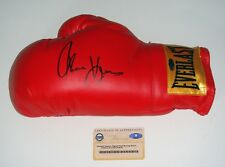 Boxer Thomas Hitman Hearns Signed Everlast Patch Boxing Glove Steiner CERT
