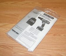 Genuine Porter Cable Instruction Manual Only For Models 8604 / 866 **READ**