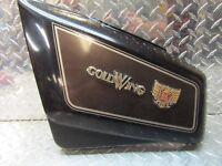 84-87 Honda Goldwing GL1200 GL 1200 Left Side Frame Battery Cover Panel Black