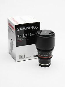 Samyang 135 T2.2 Cine lens for Sony E Mount
