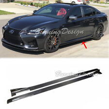 For 13-Up Lexus GS Base and F sport & GSF Carbon Fiber Lexon Style Side Skirts