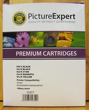 Canon Compatible PGI-5PGBK, CLI-8Bk CLI-8C CLI-8M CLI-8Y Set. BNIB / Sealed