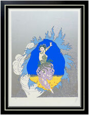 ERTE Serigraph Original SIGNED Art Deco Coming of Spring Rare Set Costume Design