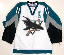 OWEN NOLAN SAN JOSE SHARKS CCM AUTHENTIC NHL GAME JERSEY SIZE 48 NEW WITH TAGS