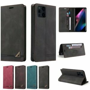 For OPPO Find X3 Pro A94 A93 A74 A52 Reno 5 Lite 4Z 5G Leather Wallet Case Cover
