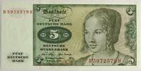 ALLEMAGNE - 5 MARK (1970) - Billet de banque (NEUF)