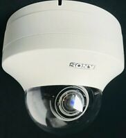 Sony SNC-DH220 IP Security Camera Mini Dome 3MP Day/Night Zoom Lens PoE Power