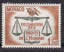 TIMBRE MONACO NEUF N° 661 ** DECLARATION DES DROITS DE L HOMME