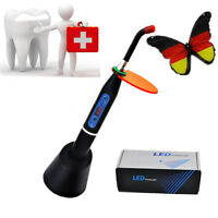 Dental 5W Wireless Cordless LED Cure Curing Light Hardening Lamp 1500mw Black