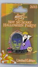 Disney Not So Scary Halloween Party Snow White Evil Queen Slave Mirror Apple Pin