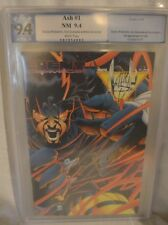 Ash #1 Joe Quesada Cover Signed Graded PGX 9.4 Event Comics 1994 Jimmy Palmiotti