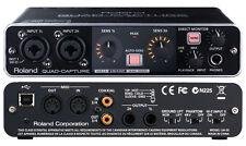 New Roland UA-55 QUAD-CAPTURE USB 2.0 Audio Interface MIDI MAC Windows