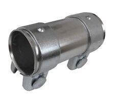 Tubo de Escape Conector 56mm a 60.5mm X 125mm Tubo Abrazadera ADAPER Manga 60mm