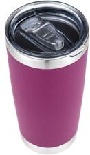 Stainless Steel Vacuum Insulated Tumbler with Lid Fuchsia