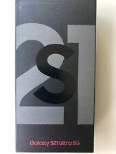 Samsung Galaxy S21 Ultra 5G SM-G998B/DS -128GB- Phantom Black Differenzbesteuert