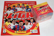 PANINI LA LIGA BBVA España 2014/2015 14/15 - Display box 50 packets + ALBUM