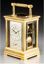 A French Carriage Clock With Grand Sonneire Movement 7-1/4 Inches H. Lot 65125