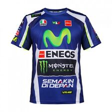 Official Valentino Rossi VR46 Replica Leather's Mans T Shirt - YDMTS 214309