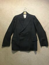 Vintage 1950s Hall Brothers of Oxford Bespoke Pinstripe 2pc Suit