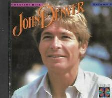 Greatest Hits, Vol. 3 & Behind The Music Collection John Denver Music CD Lot RCA