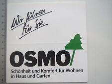 Aufkleber Sticker Osmo - Haus und Garten (M1659)