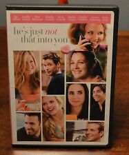 He's Just Not That Into You DVD 2009 Ben Affleck Drew Barrymore Jennifer Aniston
