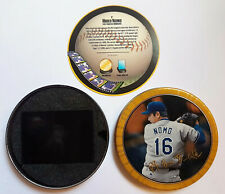 1997 TOPPS SCREEN PLAYS HIDEO NOMO 3D MOVING ACTION BASEBALL CARD WITH TIN CASE