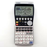 Casio FX-9860GII Graphing Calculator No Cover Dead Pixels Tested & Works *READ*