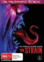The Strain : Season 2 (DVD, 4-Disc Set) NEW