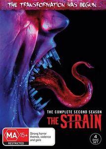 The Strain : Season 2 (DVD, 2017, 4-Disc Set)